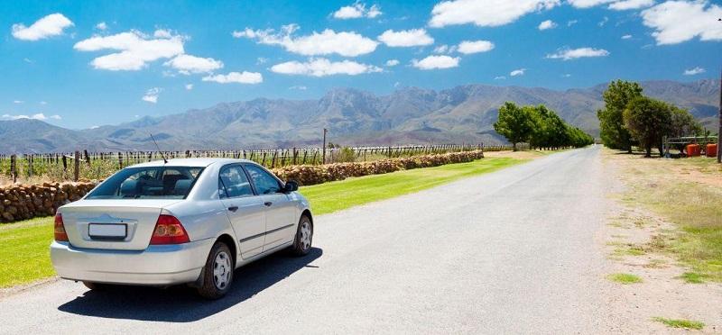 Aluguel de carro na Cidade do Cabo