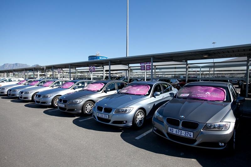 Modelos de carros para alugar na Cidade do Cabo