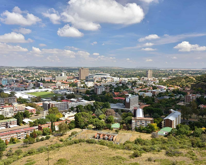 Bloemfontein na África do Sul