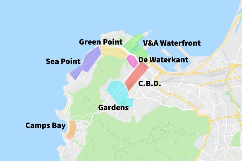 Onde ficar na Cidade do Cabo: Mapa das melhores regiões