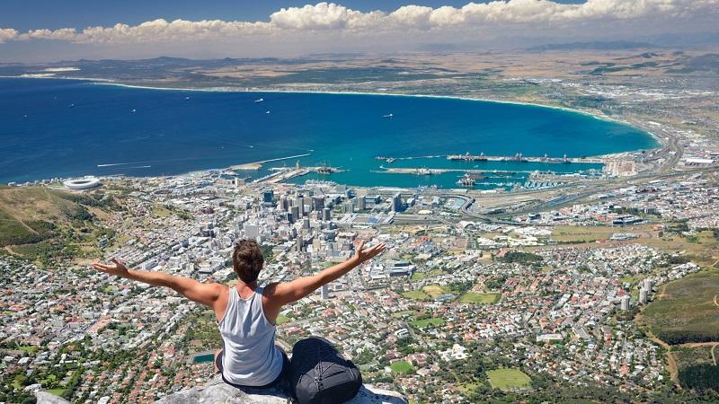 Table Mountainna Cidade do Cabo