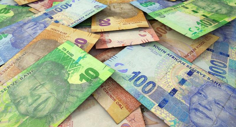 Rand na África do Sul