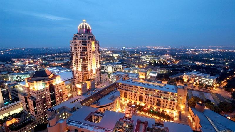 Melhores regiões para ficar em Joanesburgo: Sandton
