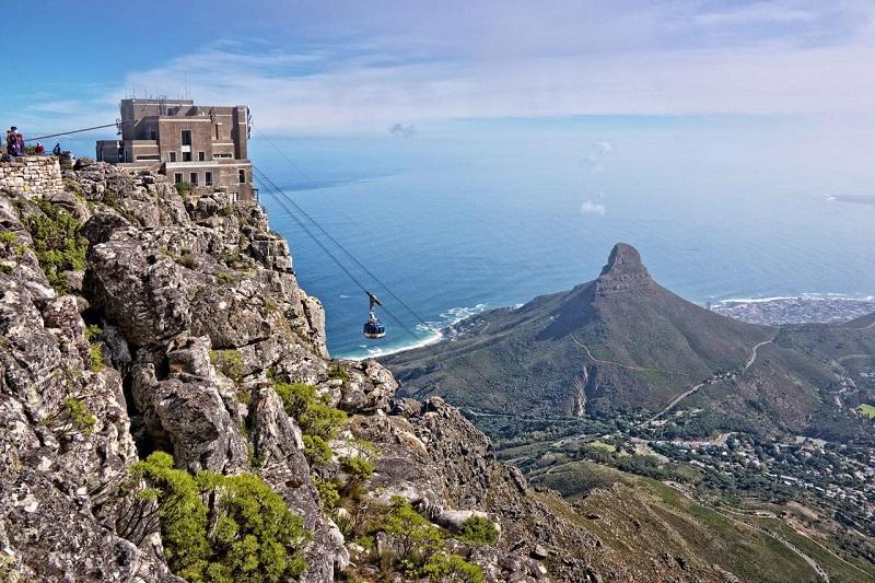 Região dos principais e melhores atrativos da Cidade do Cabo