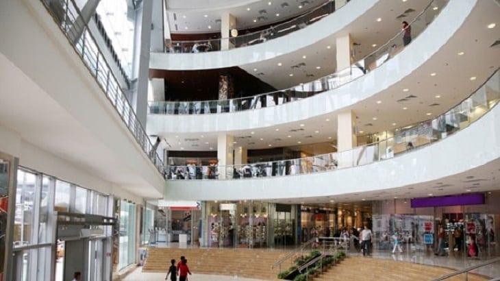 Compras no The Mall of Rosebank em Joanesburgo