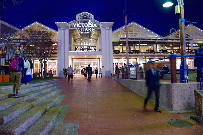 Região para compras na Cidade do Cabo