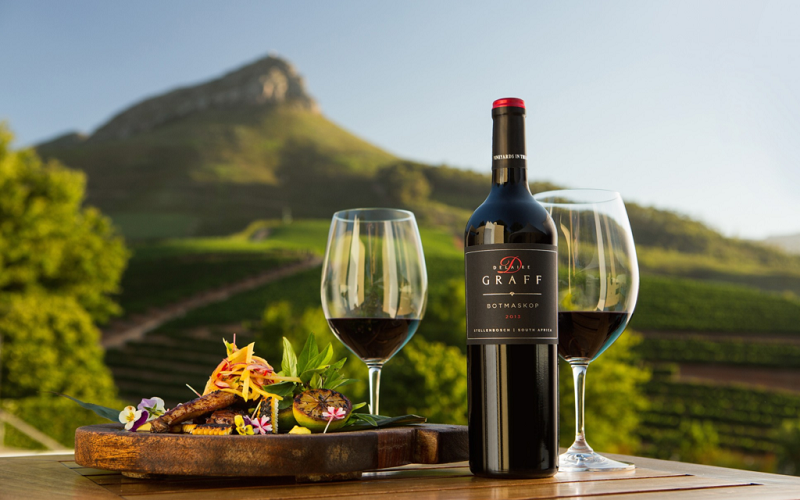 Tour nas vinícolas de Stellenbosch