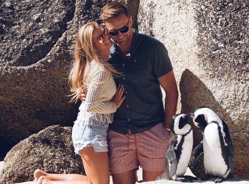 Passeios românticos na Cidade do Cabo: Boulders Beach