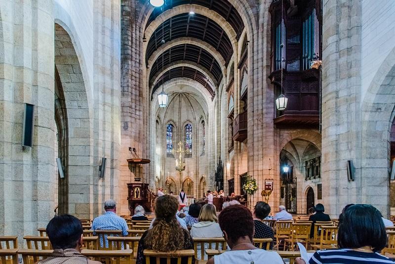 Passeios românticos na Cidade do Cabo: Catedral de São Jorge