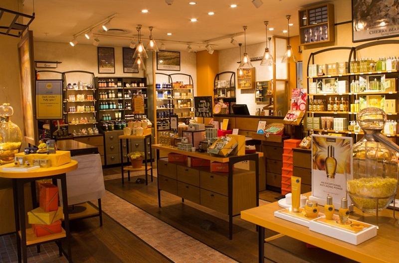 Comprar perfumes no shopping Victoria Wharf Mall na Cidade do Cabo