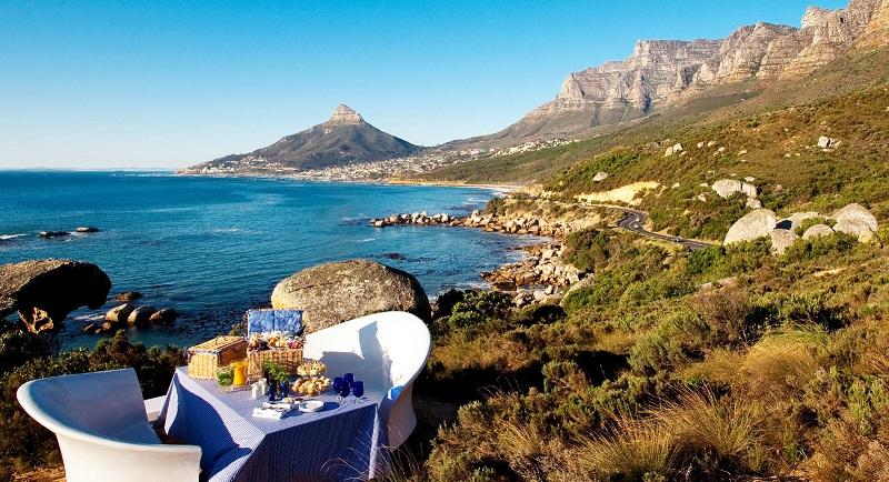 Passeios românticos na Cidade do Cabo