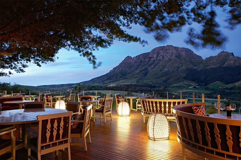 Melhores restaurantes na Cidade do Cabo