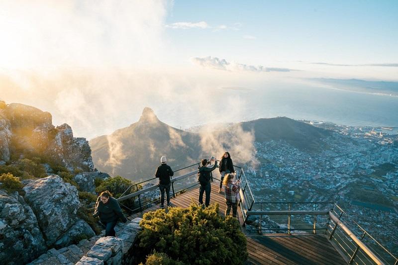 Público na Península do Cabo
