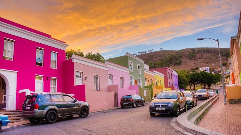 Bo Kaapna Cidade do Cabo