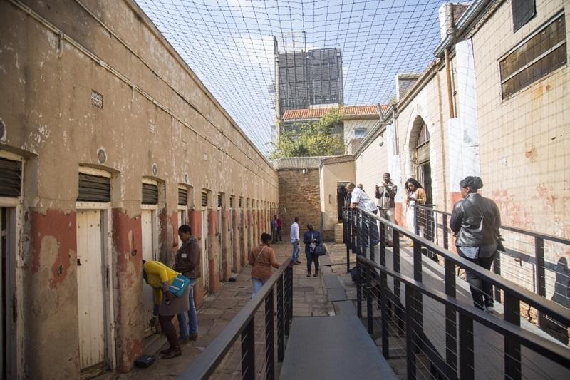 Museu da Constituição Hill em Johanesburgo