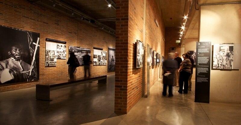 Visita ao Museu do Apartheid em Joanesburgo