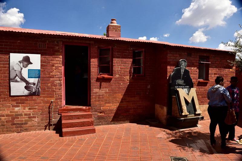 Casa de Nelson Mandela em Joanesburgo