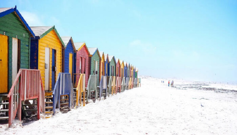 Inverno na Cidade do Cabo: Praias