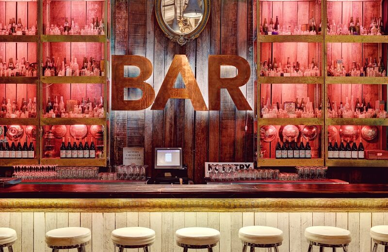 Bar Sir James van der Merwe em Joanesburgo
