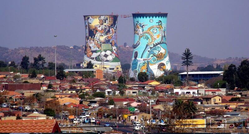 Soweto em Joanesburgo