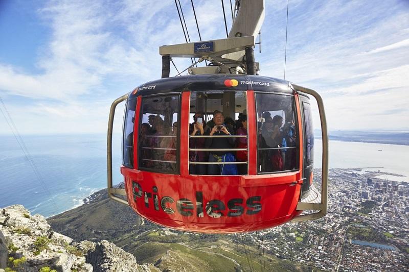 Passeio em Table Mountain na Cidade do Cabo