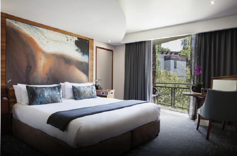 Quarto do The Ivy Villa Hotel & Spa em Joanesburgo
