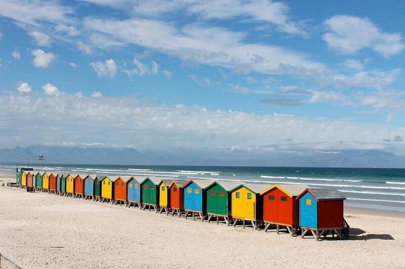 Melhores praias da Cidade do Cabo: Muizenberg