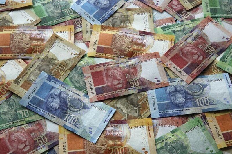 Notas rands África do Sul