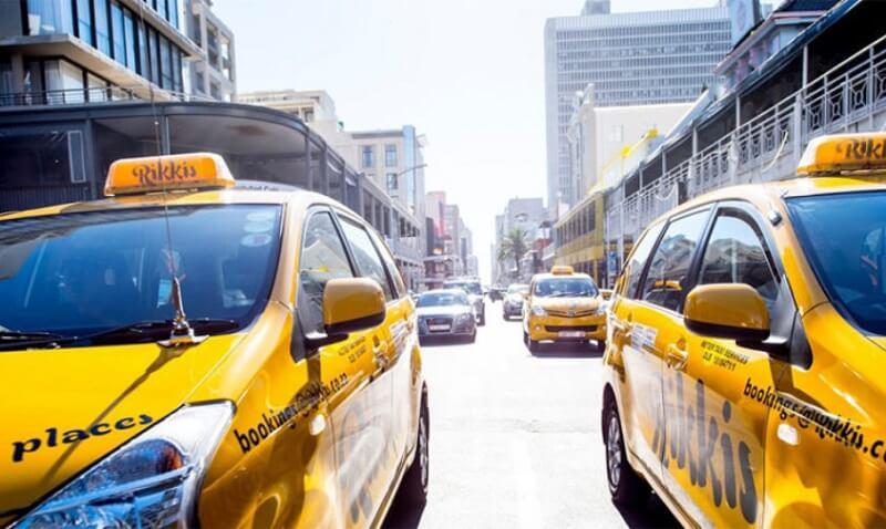 Táxis na Cidade do Cabo