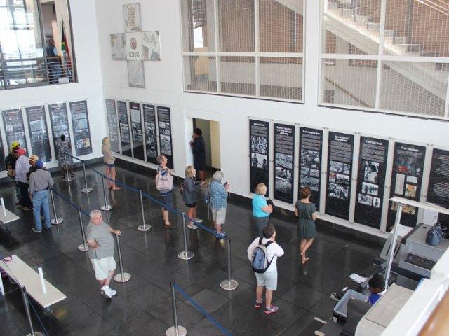 Museu da Ilha Robben na Cidade do Cabo