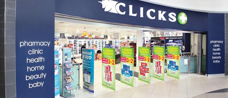 Farmácia Clicks na Cidade do Cabo