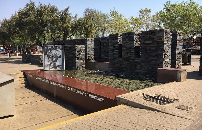 Museu Hector Pieterson em Joanesburgo - África do Sul