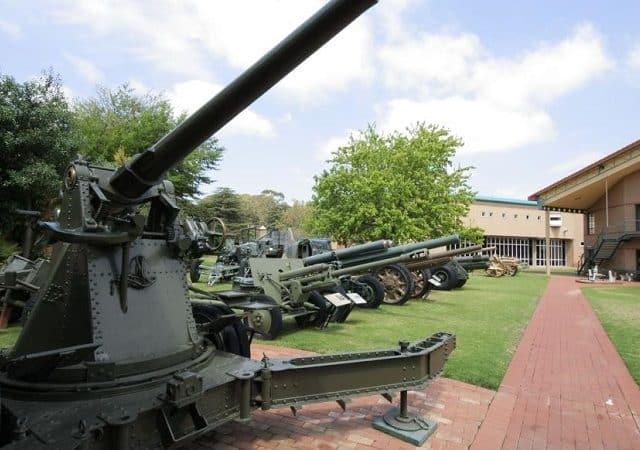 Museu Nacional de História Militar em Joanesburgo