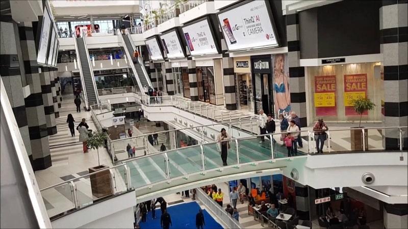 Menlyn Park Shopping Centre em Pretória